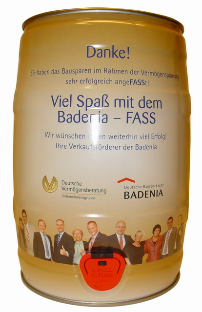 GALLON GERMANY BADENIA COMPANY