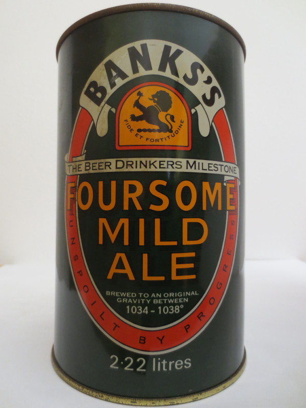 BANKS´S FOURSOME MILD ALE (222cl) Nr.1
