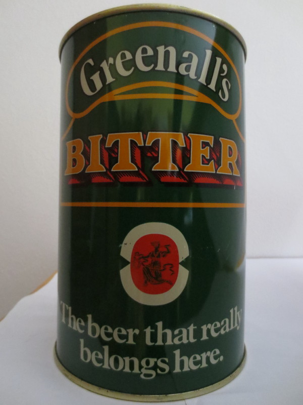 Greenall s BITTER (222cl)