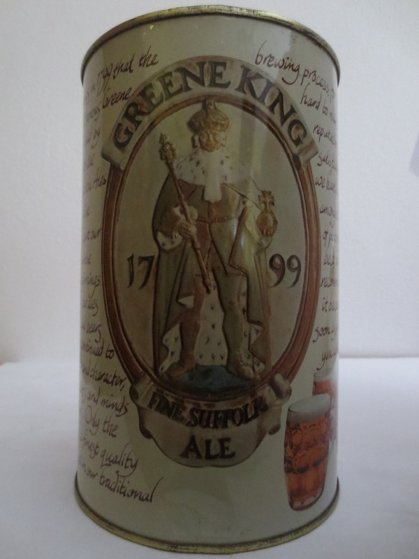 GREENE KING FINE SUFFOLR ALE (222cl) Nr.2