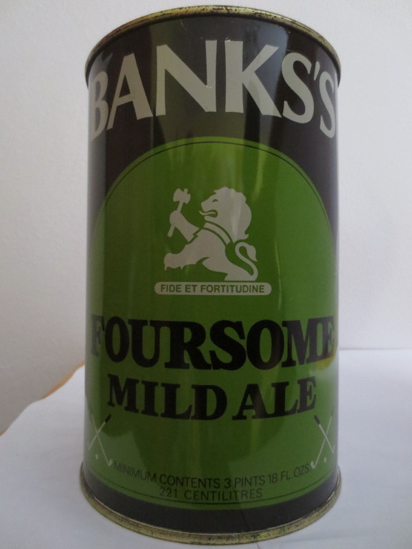 BANKS´S FOURSOME MILD ALE (221cl)