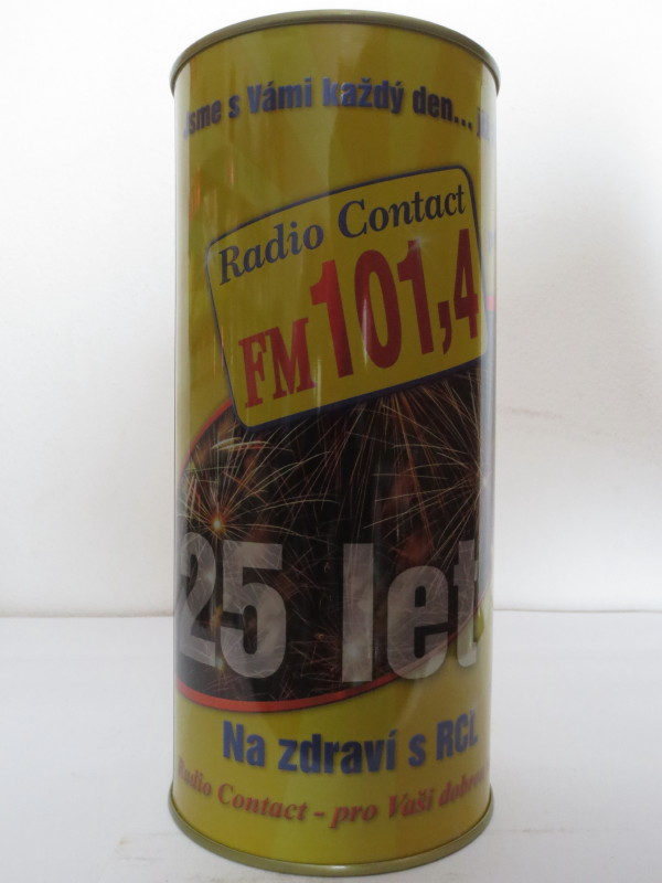 Svijany Radio Contact FM 101,4 25 let Na zdraví s RCL (200cl)