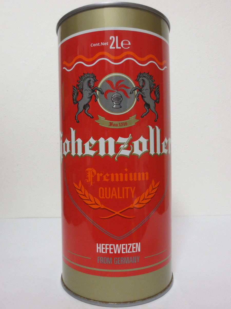 Hohenzoller Premium QUALITY HEFEWEIZEN FROM GERMANY (200cl)