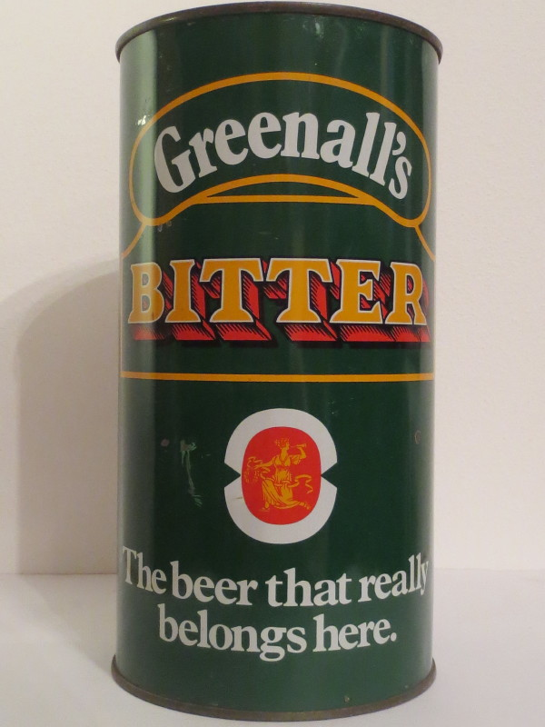 Greenall´s BITTER The beer that really belongs here. (284cl)