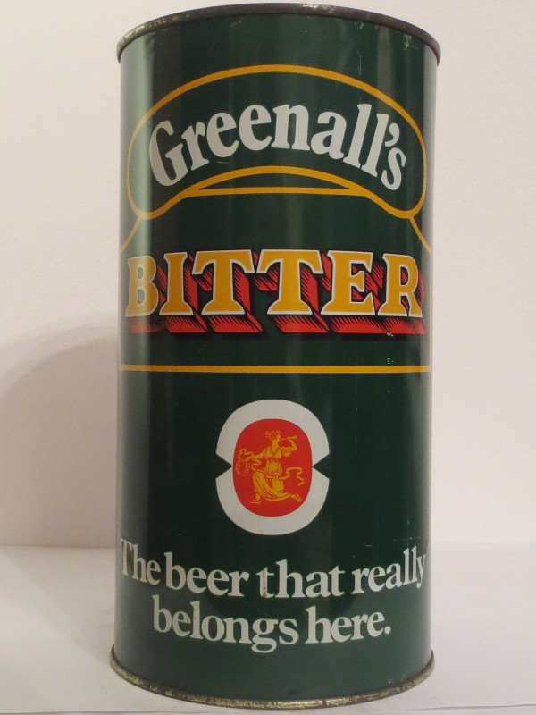 Greenall´s BITTER The beer that really belongs here. (278cl)
