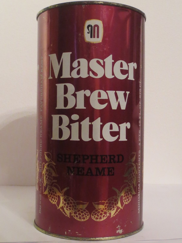 Master Brew Bitter SHEPHERED NEAME (278cl)