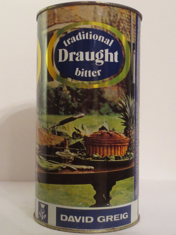 traditional Draught bitter DAVID GREIG (278cl)