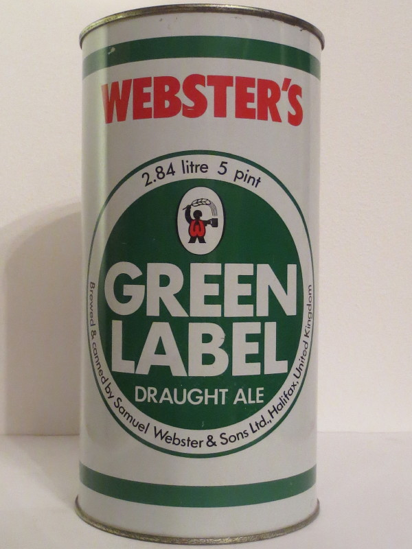 WEBSTER´S GREEN LABEL DRAUGHT ALE (284cl)