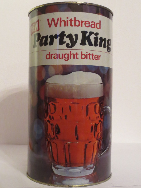 Whitbread Party King draught bitter (278cl)