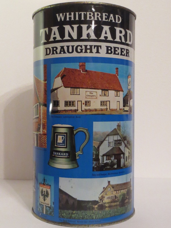WHITBREAD TANKARD DRAUGHT BEER (278cl)