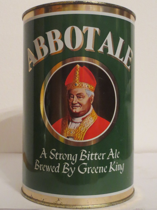 ABBOTALE A Strong Bitter Ale Brewed By Greene King (222cl)