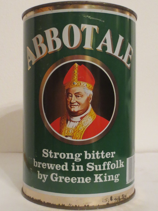 ABBOTALE strong bitter brewed in Suffolk by Greene King (222cl) Nr.2