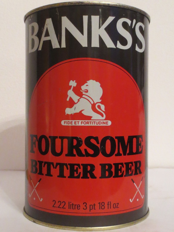 BANKS´S FOURSOME BITTER BEER (222cl) Nr.2