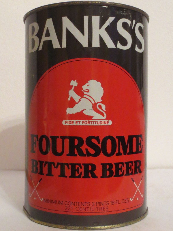 BANKS´S FOURSOME BITTER BEER (221cl)