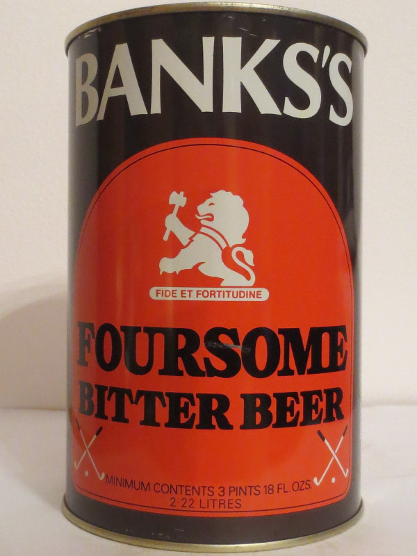 BANKS´S FOURSOME BITTER BEER (222cl) Nr.3