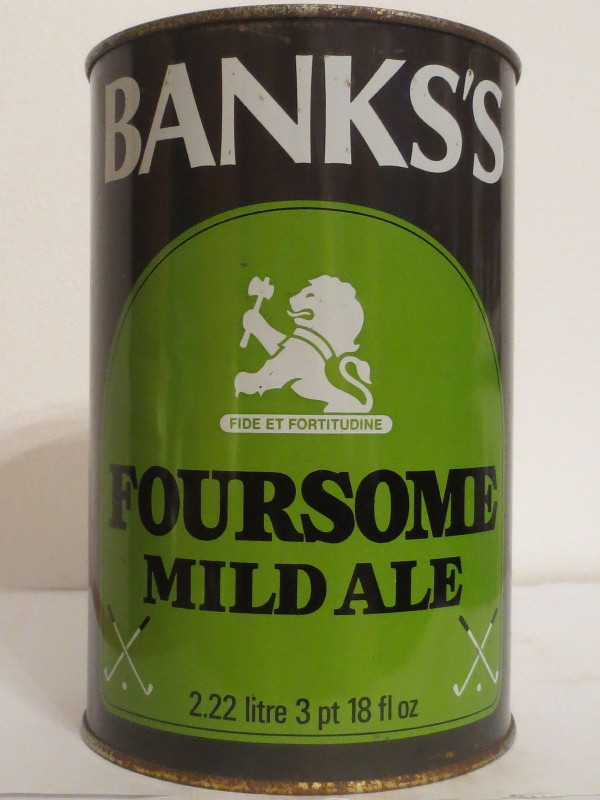 BANKS´S FOURSOME MILD ALE (222cl) Nr.2