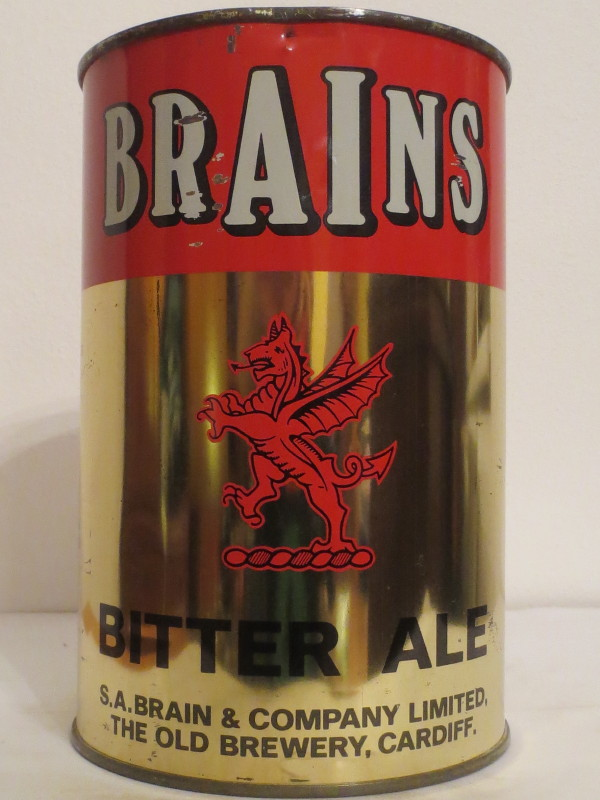 BRAINS BITTER ALE (222cl)