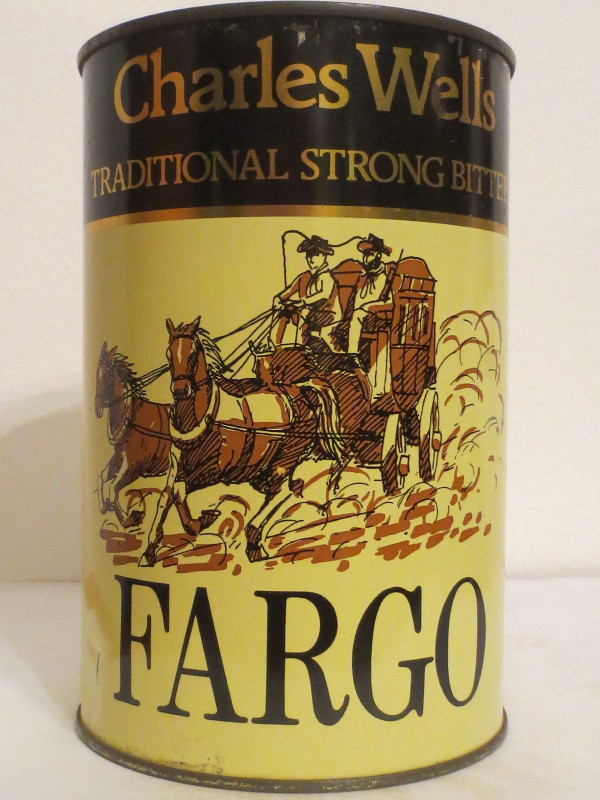 Charles Wells TRADITIONAL STRONG BITTER FARGO (221cl) Nr.2