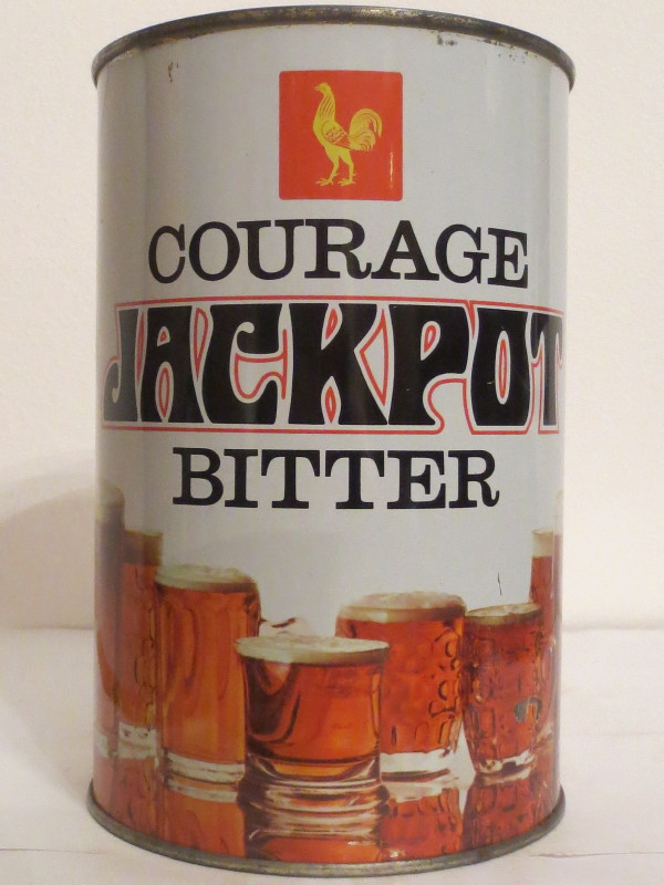 COURAGE JACKPOT BITTER (222cl) Nr.1