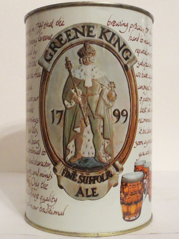 GREENE KING FINE SUFFOLR ALE (222cl) Nr.1