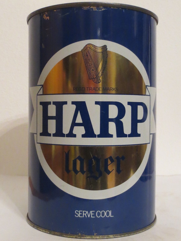 HARP lager SERVE COOL (221cl)