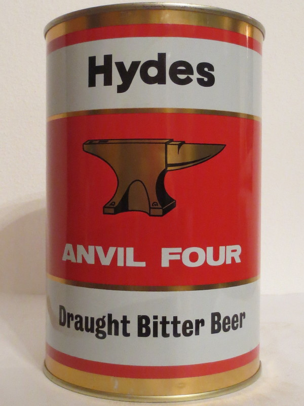 Hydes ANVIL FOUR Draught Bitter Beer (222cl)