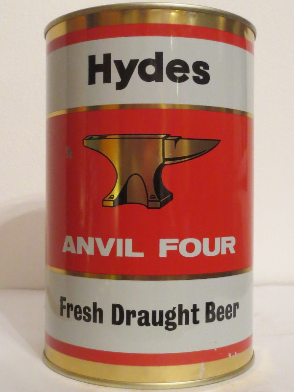 Hydes ANVIL FOUR Fresh Draught Beer (222cl)