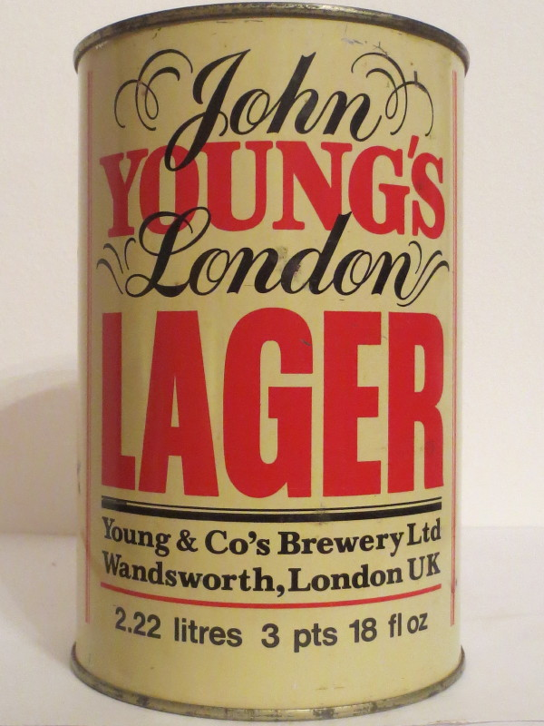 John YOUNG´S London LAGER (222cl)