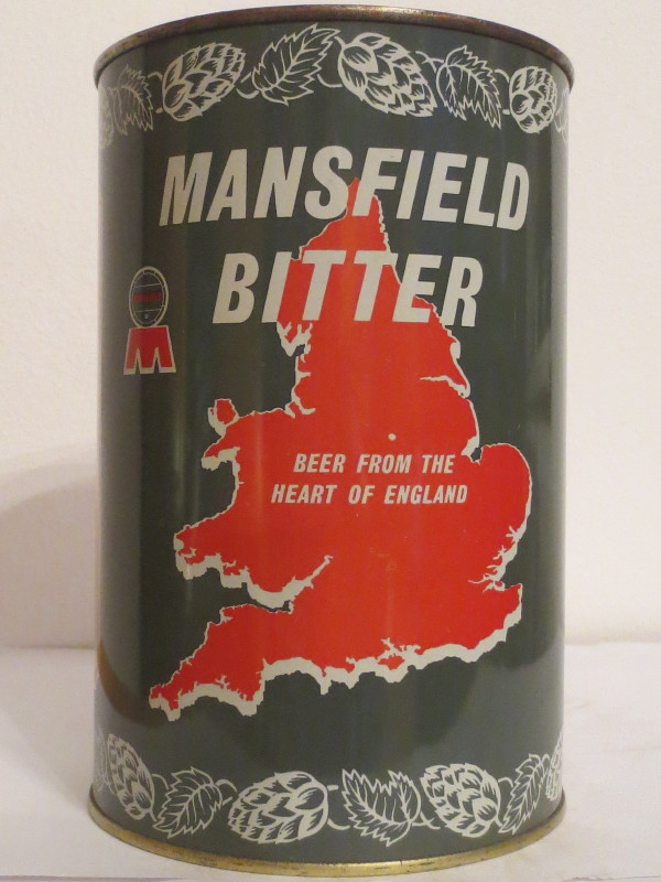 MANSFIELD BITTER BEER FROM THE HEART OF ENGLAND (222cl)
