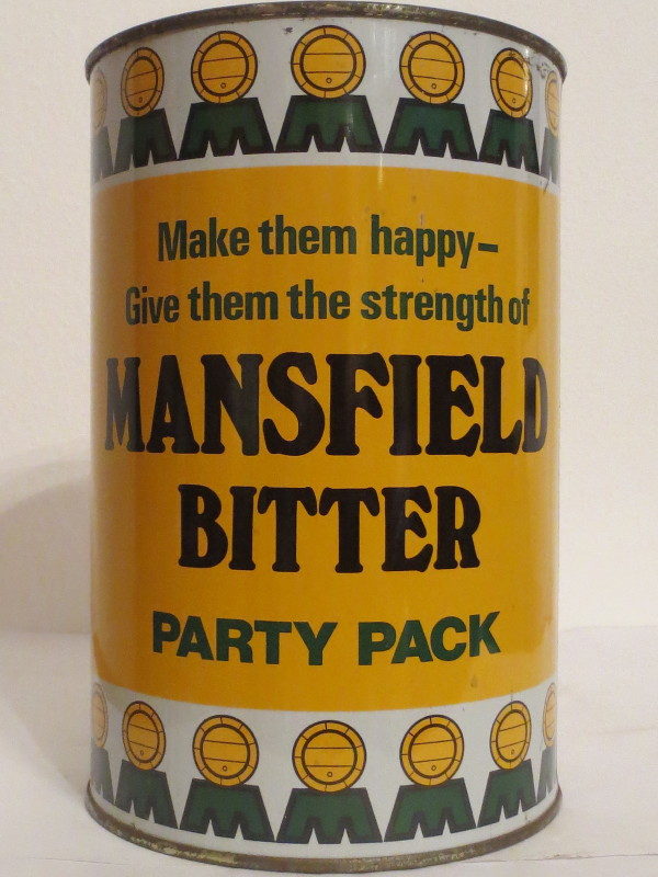 MANSFIELD BITTER PARTY PACK (222cl)