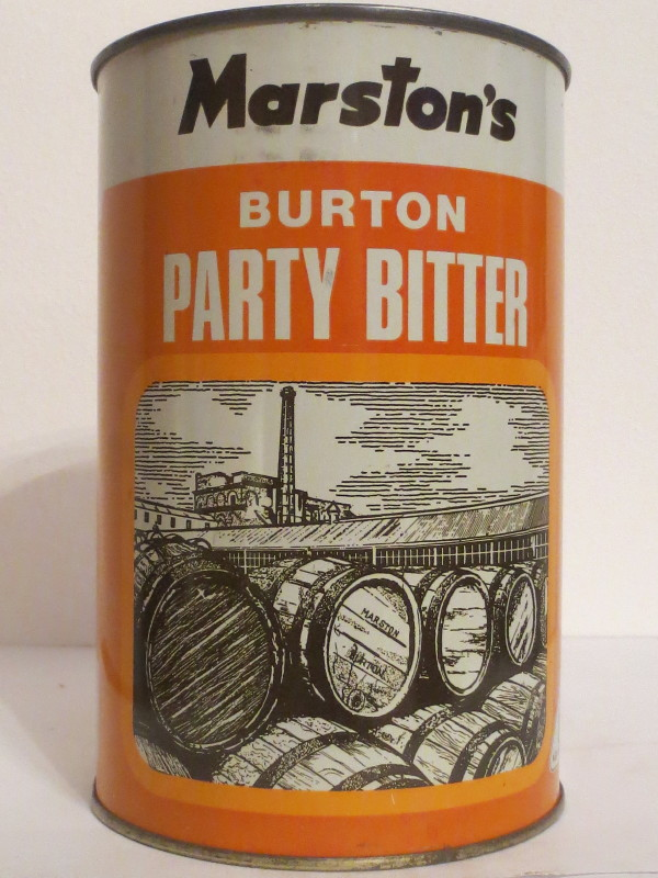 Marston´s BURTON PARTY BITTER (222cl)