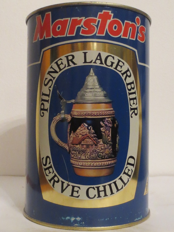 Marston´s PILSNER LAGERBIER SERVE CHILLED (222cl)