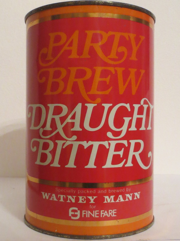 PARTY BREW DRAUGHT BITTER WATNEY MANN (221cl)