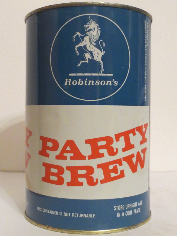 Robinson´s PARTY BREW (222cl) Nr.1