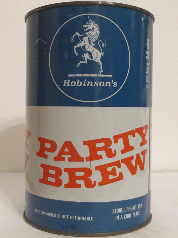 Robinson´s PARTY BREW (222cl) Nr.2