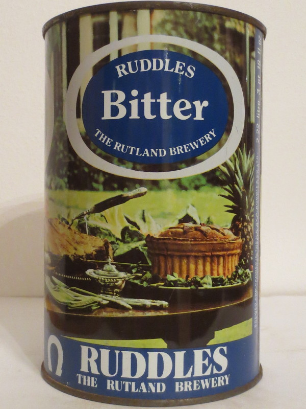 RUDDLES Bitter THE RUTLAND BREWERY (222cl) Nr.1
