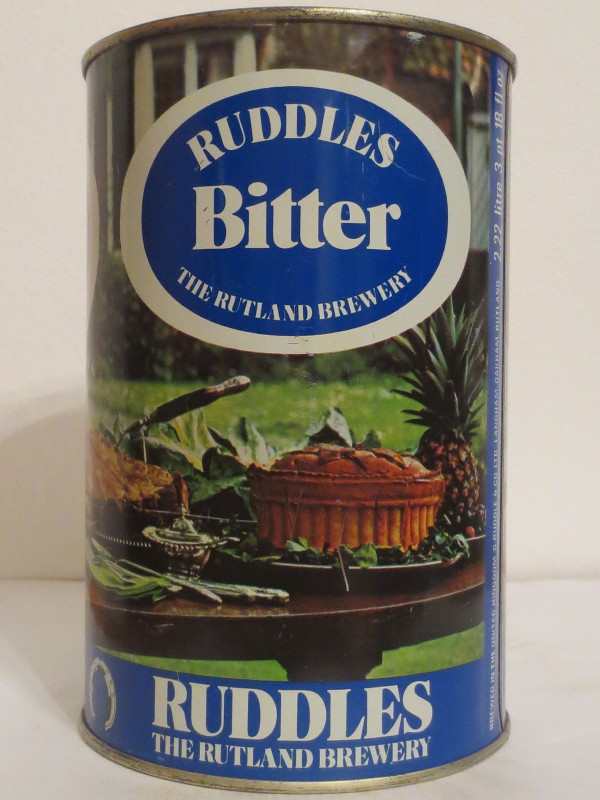 RUDDLES Bitter THE RUTLAND BREWERY (222cl) Nr.2