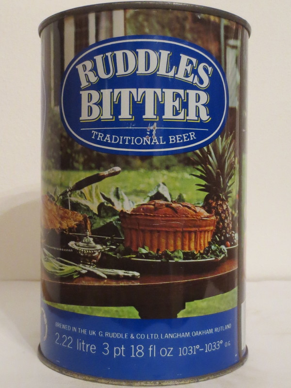 RUDDLES BITTER TRADITIONAL BEER (222cl)