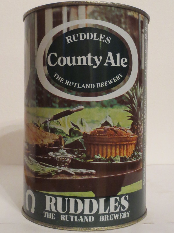 RUDDLES County Ale THE RUTLAND BREWERY (222cl) Nr.1