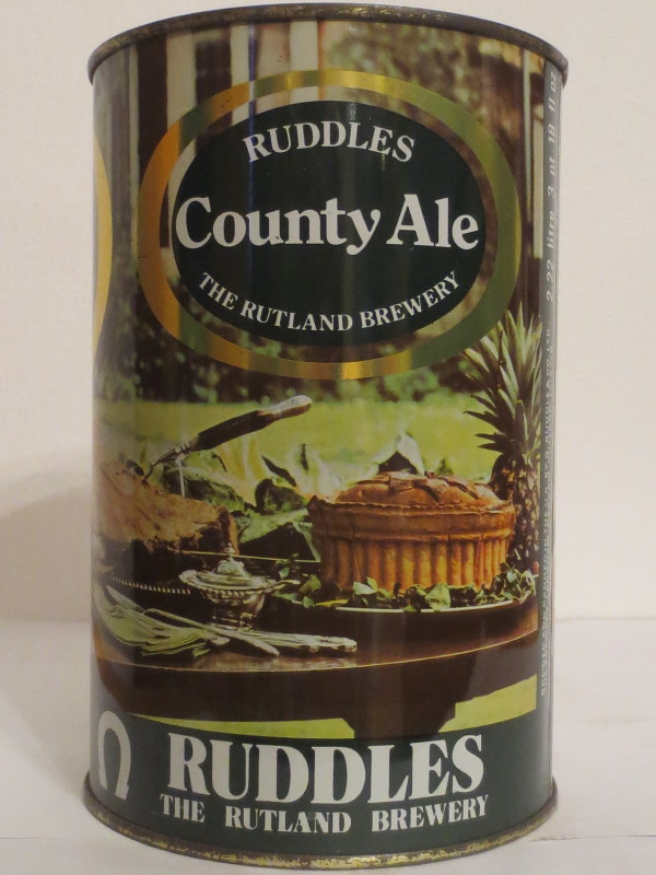 RUDDLES County Ale THE RUTLAND BREWERY (222cl) Nr.2