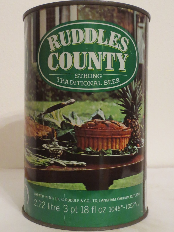 RUDDLES COUNTY STRONG TRADITIONAL BEER (222cl)