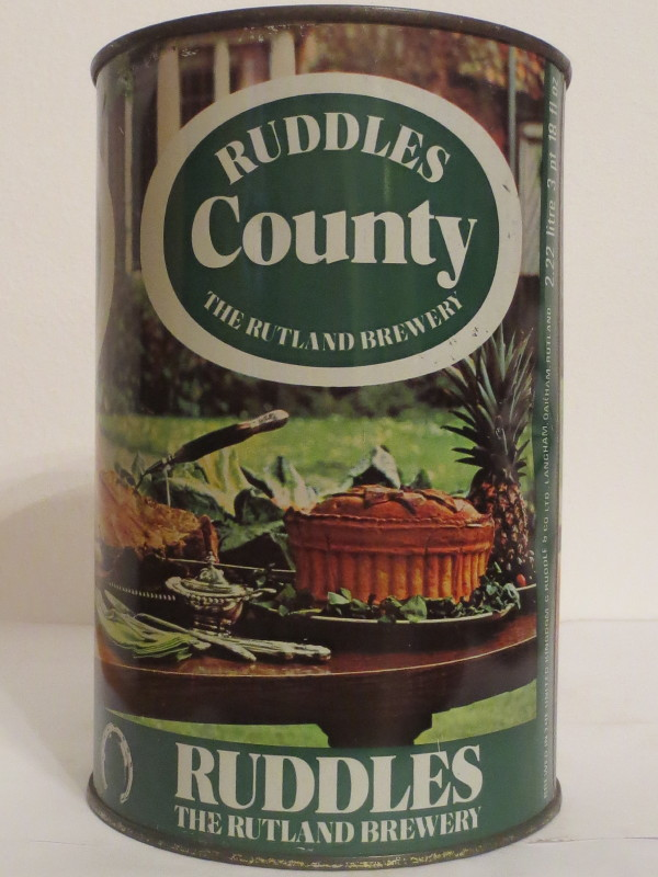 RUDDLES County THE RUTLAND BREWERY (222cl)