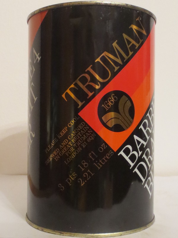 TRUMAN BARBECUE 4 DRAUGHT BITTER (221cl) Nr.1
