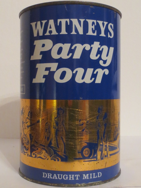 WATNEYS Party Four DRAUGHT MILD(221cl)